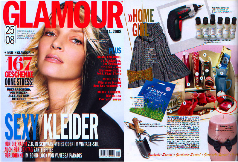 Presseveröffentlichung Lapàporter Glamour