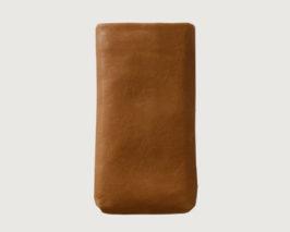 iPhone Hülle Leder cognac