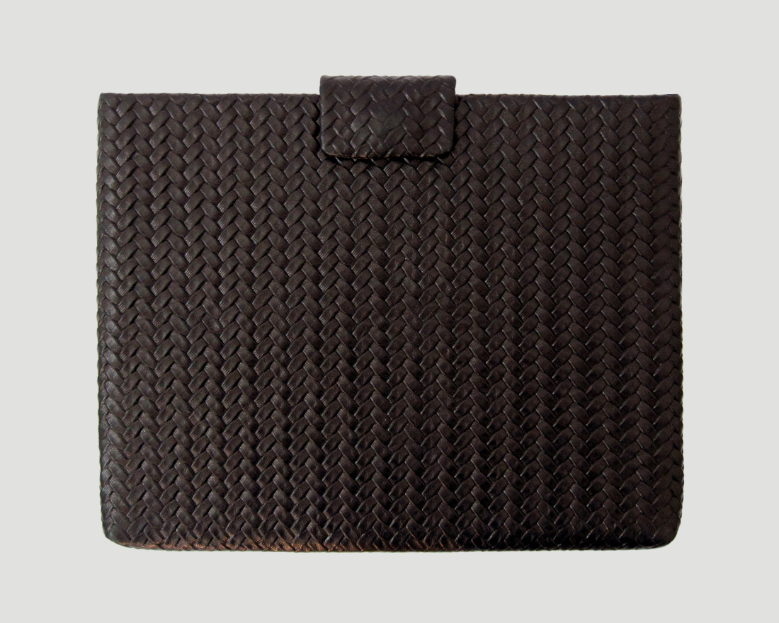 iPad case Leder braun