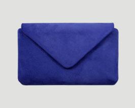 Clutch electric blue, blau