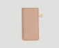 iPhone Hülle aus Leder puder rosa