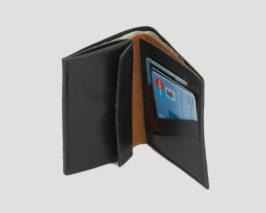 Maennerportemonnaie Kalbsleder mit Kleingeldfach
