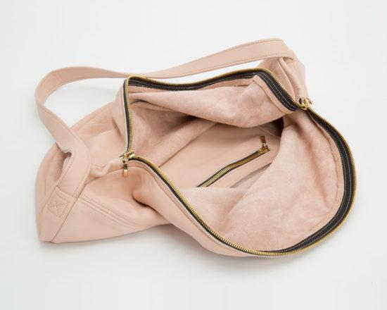 lapaporter große ledertasche kreis form