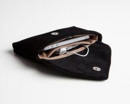 Leder Smartphone Clutches