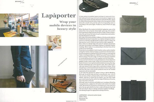 laptop case leather menswear