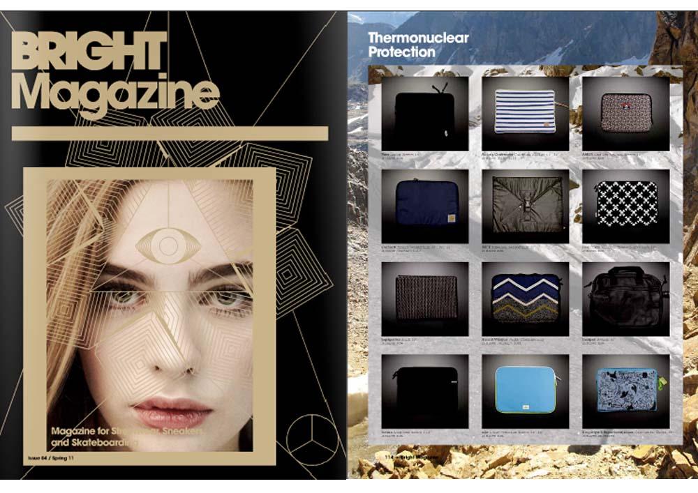 Presseveröffentlichung Lapàporter BrightMagazine