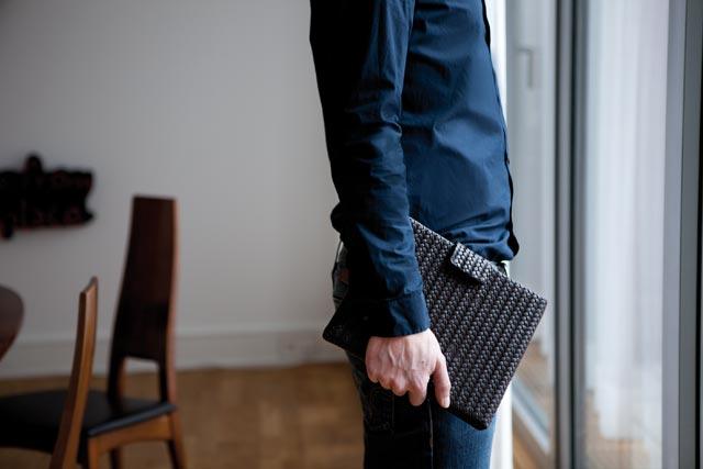 Lapàporter-iPad-Tasche/Case/Hülle-Lammleder