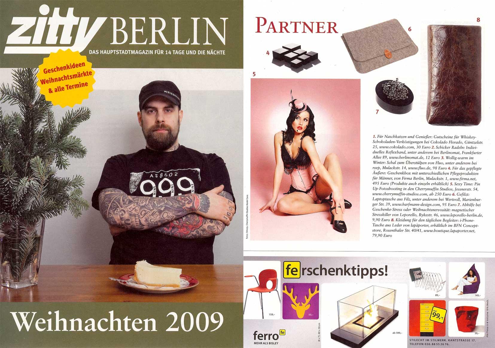 Lapàporter Veröffentlichung Zitty
