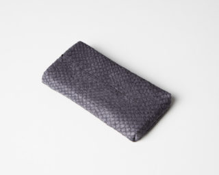 iPhone/iPod-Tasche-Case-Etui-Lachsleder-platin