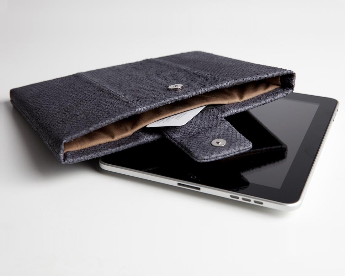 iPad-Tasche-Hülle-Case-Lachsleder-platin-blau/grau