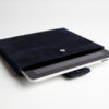 iPad-Tasche-Case-Hülle-Veloursleder-Wildleder-leder blau ipad case leather blue