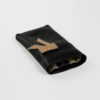 iPhone Case Ballerina Nude Black Schleife Lammleder