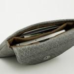 Lederetui grey aus Lachsleder Lapaporter