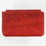 Etui aus Lachsleder rot