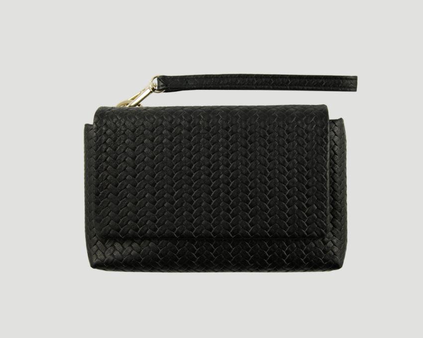 Leder portemonnaie