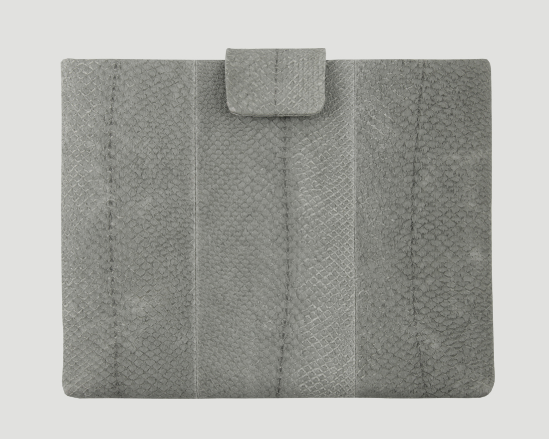 iPad case Lachs grey Lapaporter
