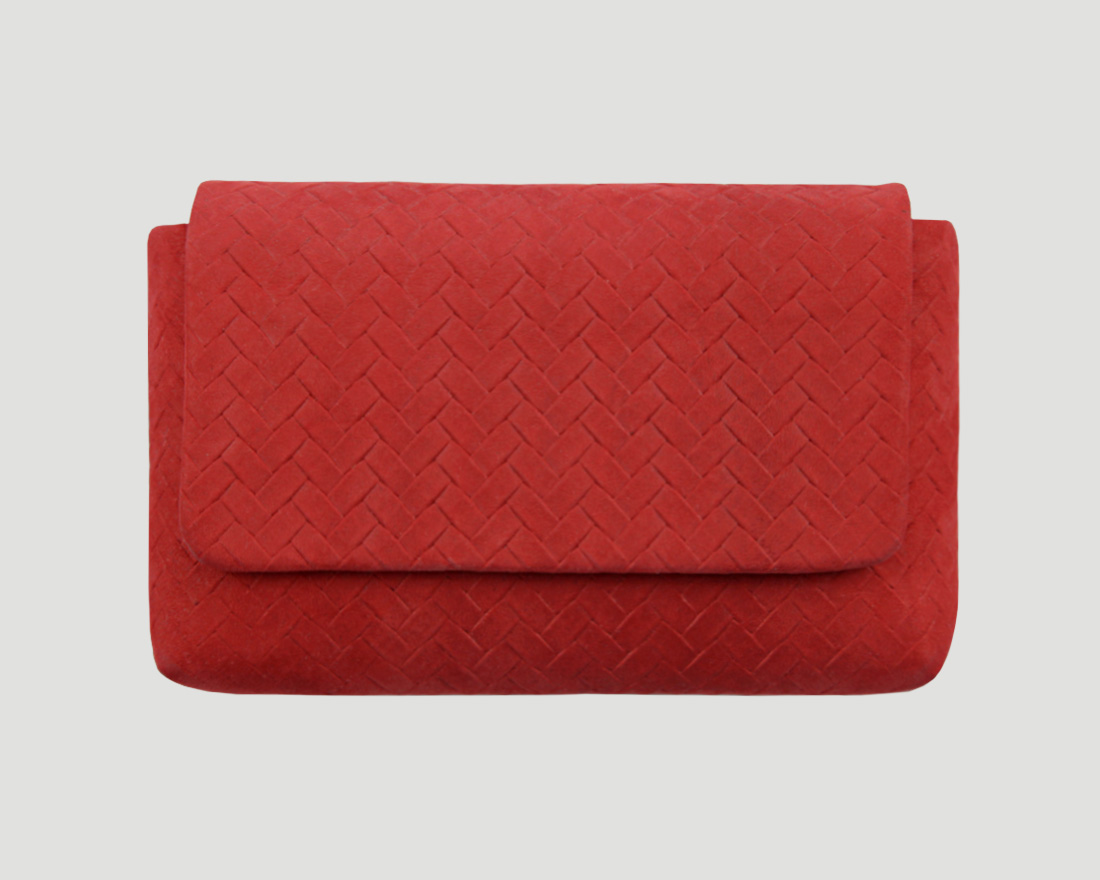 clutch smartphone Leder, rot, smartphone leather purse, smartphone leather purse