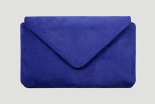 Clutch electric blue, blau