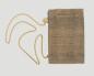 Lederbeutel kleine Tasche sand