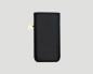 iPhone Hülle Leder schwarz