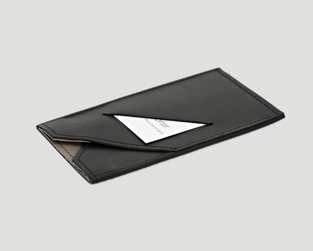 iPhone case mit Kartenfach aus Rindsleder
