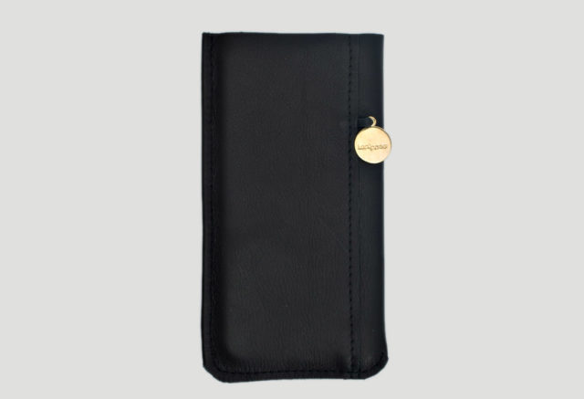 lapaporter iPhone 6s case leder schwarz