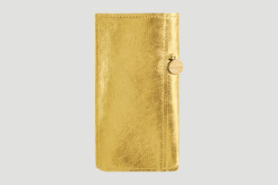 iPhone 7 Hülle Leder gold