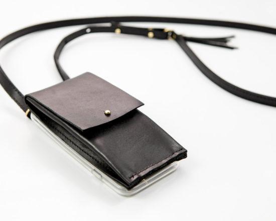 iPhone case zum umhängen, IPhone hülle Zum Umhängen mit Geflochtener Lederkordel