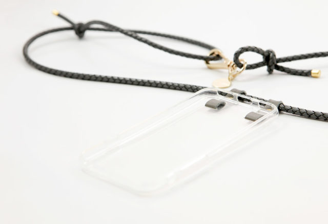 Crossbody iPhone cases, iPhone necklace with leather cord
