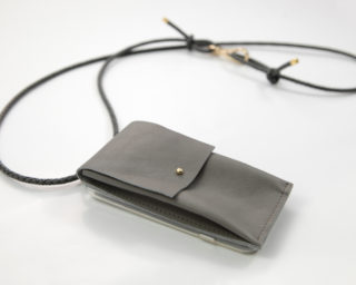 IPhone hülle Zum Umhängen mit Geflochtener Lederkordel