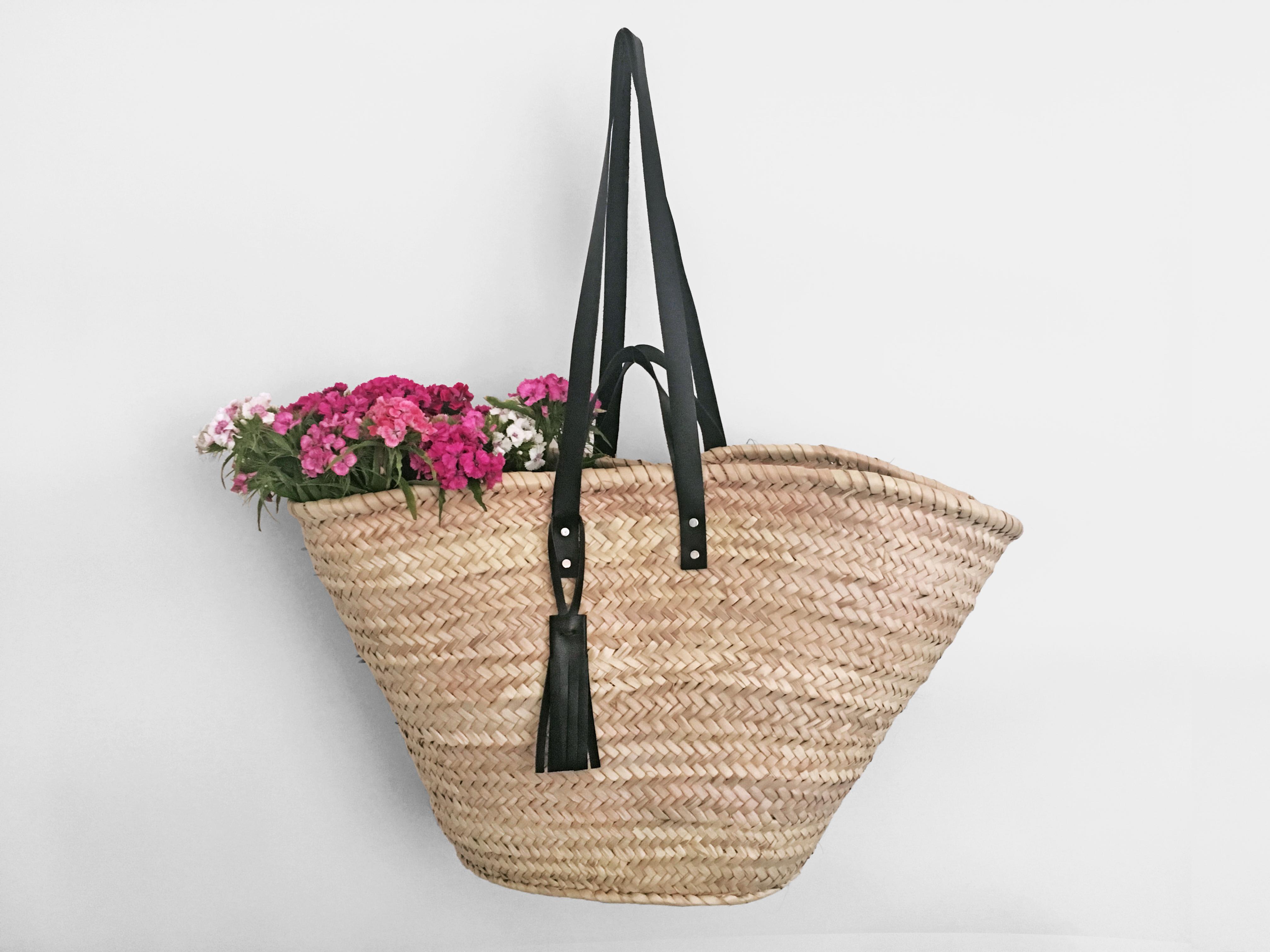 korbtasche strandtasche basket bag
