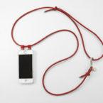 iPhone hülle zum umhängen cognac Leder crossbody iPhone case cognac leather