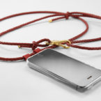 iPhone case mit Lederband iPhone case with cord