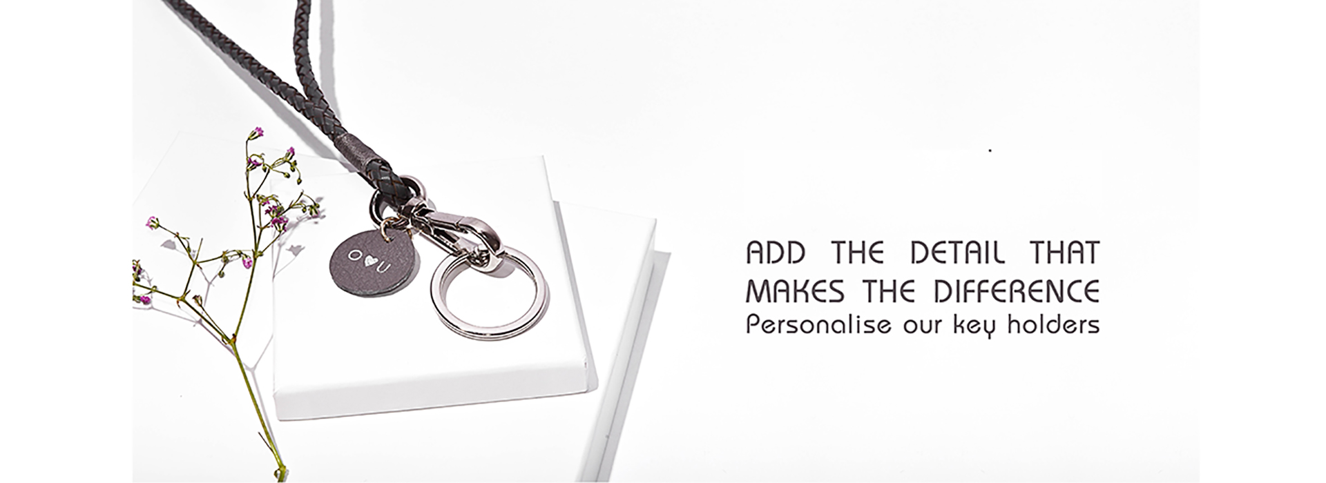 personalised initials keyholders
