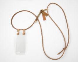 iPhone case zum umhängen iPhone necklace leather