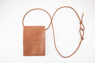 mini Umhängetasche smartphone handy Leder