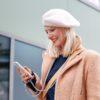 iPhone case iPhone hülle zum umhängen aus Baumwollkordel