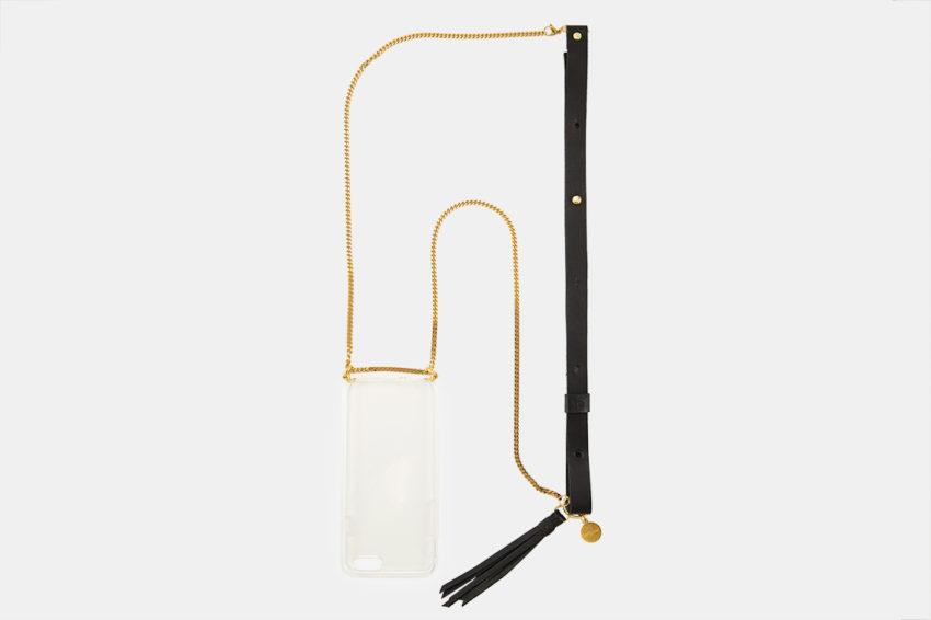Handykette für Smartphone aus Metal crossbody necklace for iPhone
