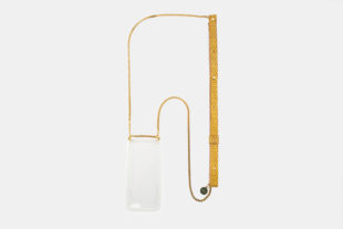 Crossbody iPhone cases with metal chain