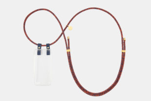iPhone necklace, handykette, iPhone hülle zum umhängen, crossbody iPhone case, leather Leder, Baumwollkordel, cotton cord