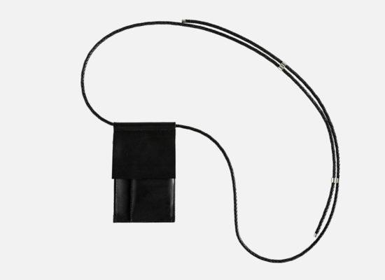 Leder Brustbeutel, neck pouch, leather, Umhängeportemonnaie, crossbody leather bag