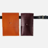 Waist bag, belt bag, fanny pack, phone case with belt, Gürteltasche, Hüfttasche, handytasche mit Gürtel, hip bag, leder, leather