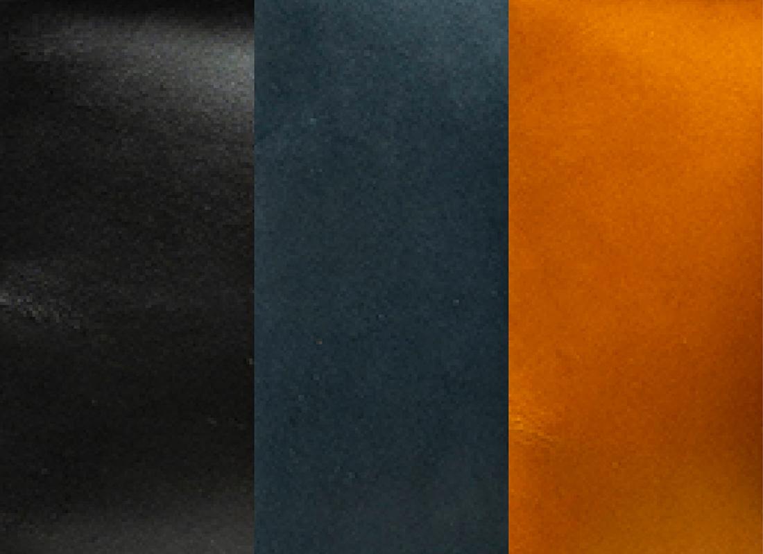 leder, veg-tanned leather