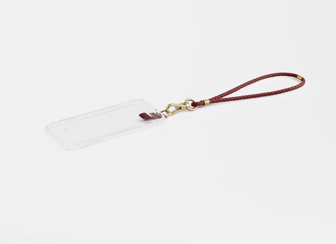 iPhone hülle mit Tragehenkel aus Leder-phone case with wrist handle leather