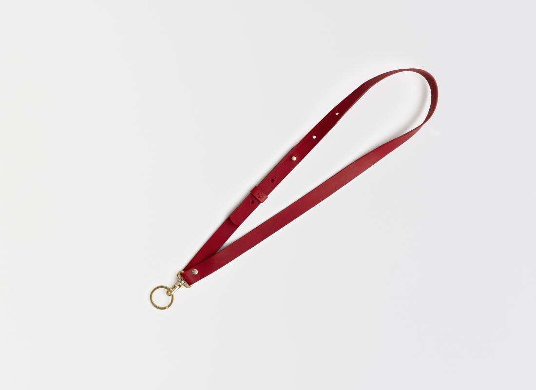 Lederriemen Schlüsselanhänger Leder leather key holder