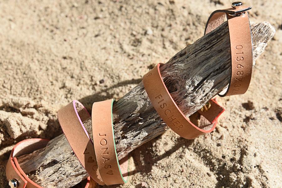 SOS Kinderarmbänder, Leder Kinderarmband Schmuck Kinderschmuck