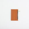 Lederportemonnaie klein orange, small leather wallet orange