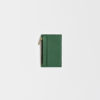 Lederportemonnaie klein grün, small leather wallet green