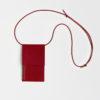 Leder Handytasche zum umhängen - Leder Brustbeutel zum umhängen