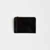 clutch aus Leder schwarz , clutch leather black
